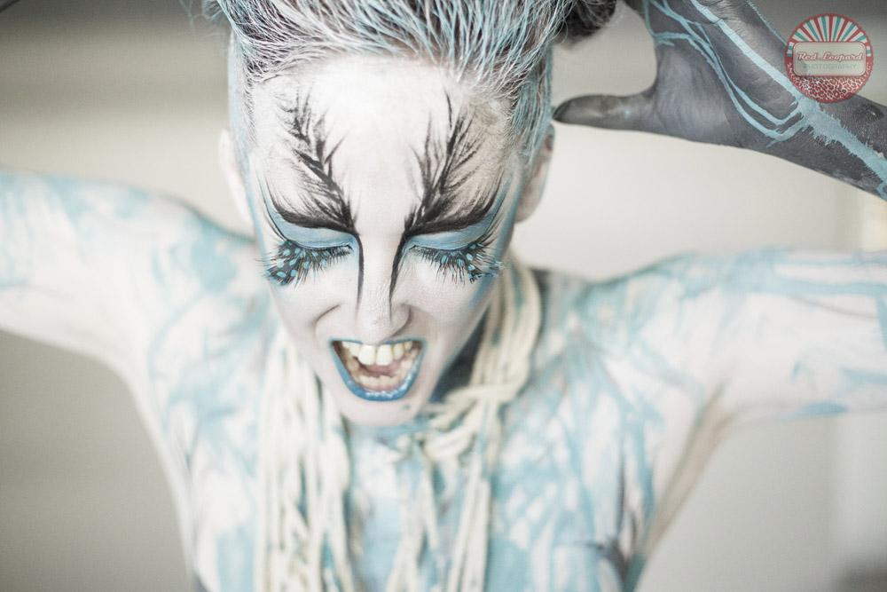Cassandra Body Paint Full Images